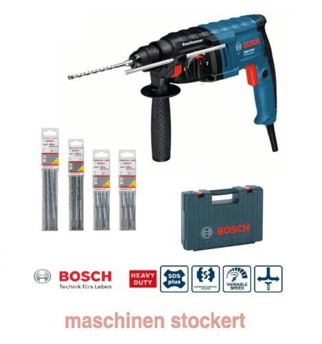 Bosch guitariste 2-20 D Marteau perforateur y compris 40 SDS-Plus Forets dans la valise