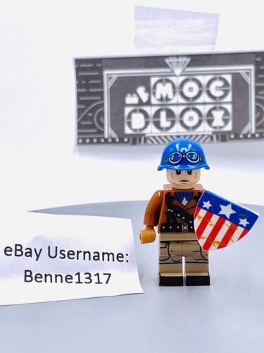 Captain America w// Union Shield Custom Figure #479 US SELLER - FITS LEGO