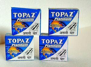 TOPAZ-Super-PLATINUM-double-Edge-Safety-RAZOR-Blades-best-QUALITY-Saloon-supply