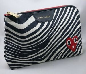 New-ESTEE-LAUDER-Cosmetic-Makeup-Bag-from-USA-Red-Heart