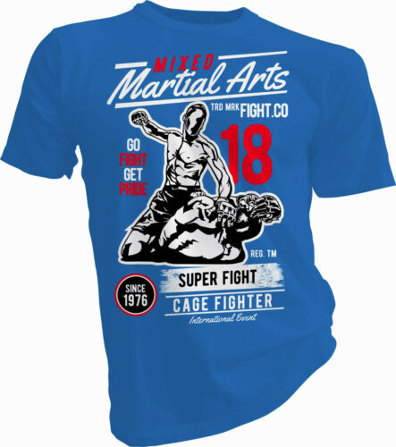 MMA UFC Fighter Adulte /& Enfants T-Shirt Cage Fighter Super combat combats