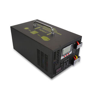 Pure-Sine-Wave-Hybrid-Inverter-2500W-48VDC-AC-to-120-220V-AC-30A-Charger-Control