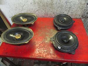 06 05 04 02 03 nissan altima oem front \u0026 rear clarion speaker setimage is loading 06 05 04 02 03 nissan altima oem