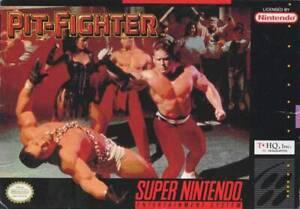 Pit-Fighter Super Nintendo Game SNES Used