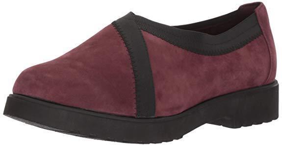 à Condition De Clarks Bellevue Cèdre Chaussures Femmes En Bourgogne En Daim Uk6 (eu39.5/us8.5m)