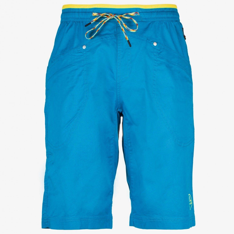 La Sportiva Bleauser Short, Bouldershorts für Herren, tropic Blau  Größe M