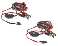 (2) 8 Ft. Wire Harness / Power Cables 12v Delavan / Everflo Demand Water Pumps