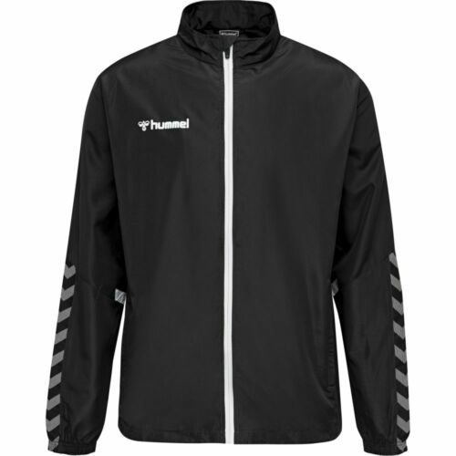 Details about  /Hummel Kids Sports Training Casual Outdoor Authentic Micro Full Zip Jacket Top