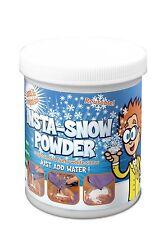 Insta-NIEVE NIEVE en polvo resuable Instant Magic hace 7.5 Ltrs nieve