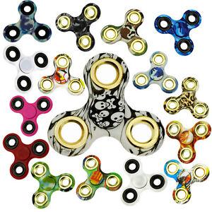 S100-Fidget-Toys-MANO-Spinner-tri-cono-Dedo-Peonza-FINGER-Spinner-Gadget