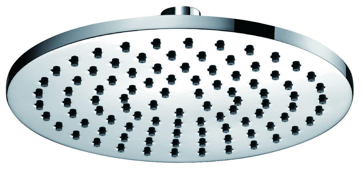 PURA ki071 chromé rond Deluxe 200mm fixe laiton tête de douche hea6050