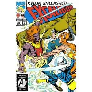 Excalibur-1988-series-63-in-Near-Mint-condition-Marvel-comics-92