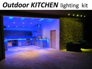 Outdoor Kitchen Island Led Light Kit With Fx Color Changing Led