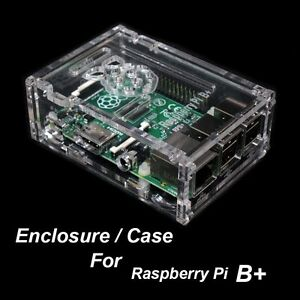 Case Box Shell Enclosure with Hole for Raspberry Pi Motherboard