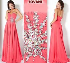 JOVANI 110967 Turquoise NEW WITH TAGS authentic dress. Size 0. BEST SALE PRICE !