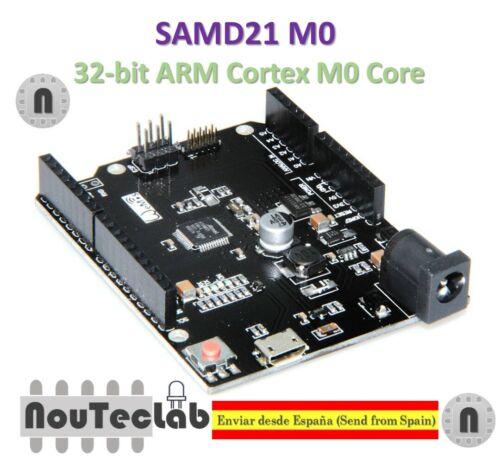 SAMD 21 M0 32-bit Arm Cortex M0 core compatible con Arduino cero M0 el formulario R3