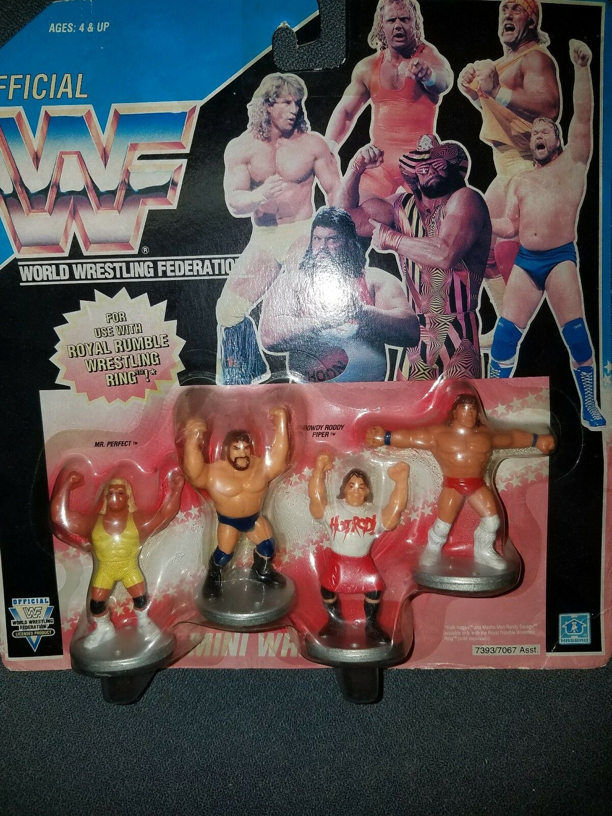 Hasbro WWF WWF ROYAL RUMBLE MINI WRESTLERS cifras 1991  Piper Dugan Perfect nuovo  alla moda