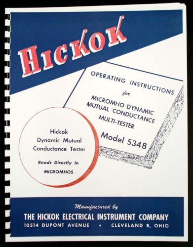 Business & Industrial Hickok 534B Dynamic Mutual Conductance Tube ...