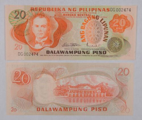 Philippines Banknote 20 Piso 1978 UNC