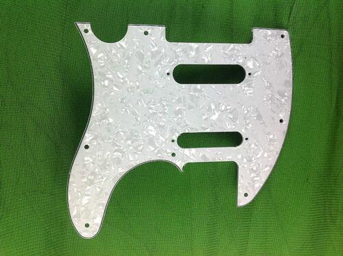 4 Ply Guitar Pickguard For Fender Nashville Telecaster Tele White Pearl