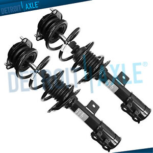 Detroit Axle 2 Front Complete Ready Strut /& Coil Spring Assembly for 2009 2010 2011 2012 Ford Flex Pair