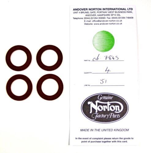 Insulator Valve Spring bakalite Washer Norton Commando 06-7845 NM23392 phenolic