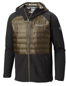 Columbia Mens Snowfield Hybrid Titanium Jacket Black ...