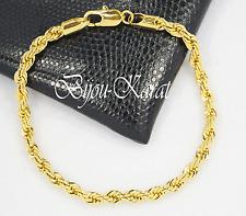 18 Karat Vergoldet Gold Armband Gedreht Altin Kaplama Armschmuck Bileklik Dügün