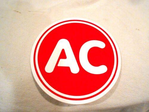 "AC Spark Plug Vinyl Sticker 6/"""
