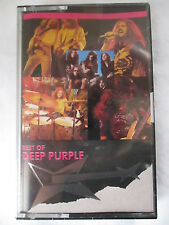 THE BEST OF DEEP PURPLE  - CASSETTE TAPE - BRAND NEW