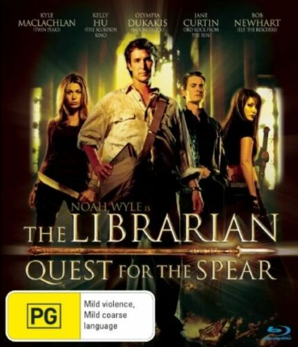 1 of 1 - The Librarian - Quest For The Spear (Blu-ray, 2008) +Priority Post