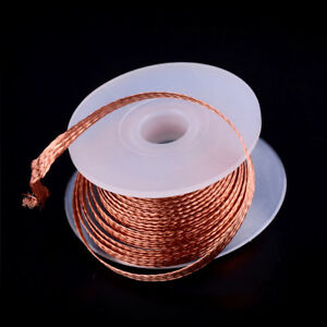 1PC-3-5mm-1-5M-Desoldering-Braid-Solder-Remover-Wick-Wire-Repair-ToolSND
