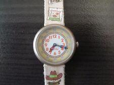 Swatch Flik Flak kids wristwatch eta 2004 Cowboy