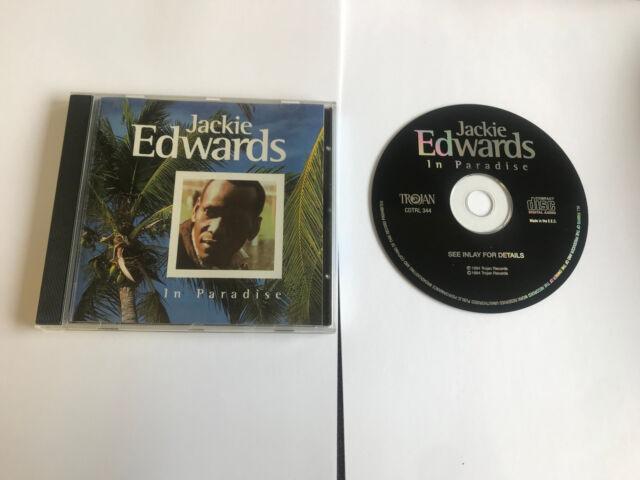 IN PARADISE ~ Jackie Edwards  CD TROJAN 20 TRK 766126134424