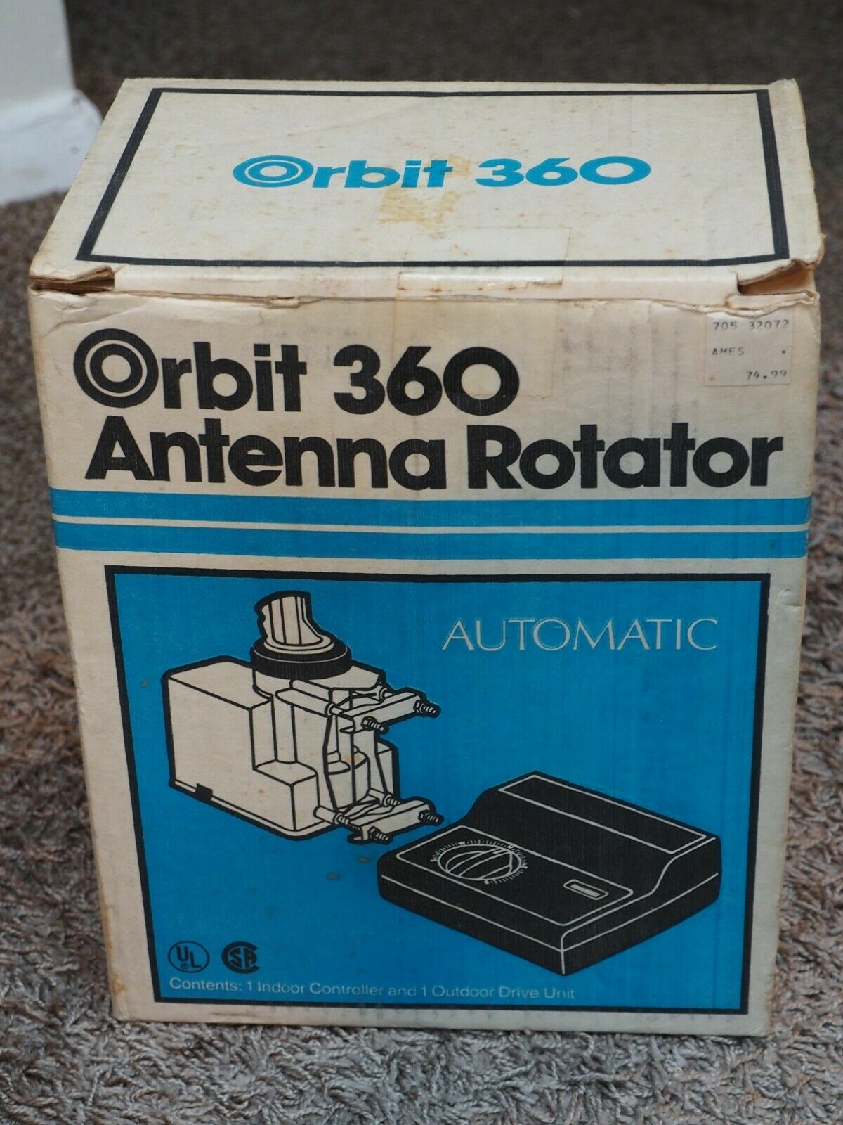 NEW/NIB Gemini ORBIT 360 ANTENNA ROTATOR. Available Now for 125.00