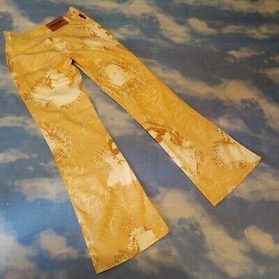 2019 Ultimo Disegno Trousers Vintage Moschino Jeans Made Italy Tg.28 Circa S Rare Asciugare Senza Stirare