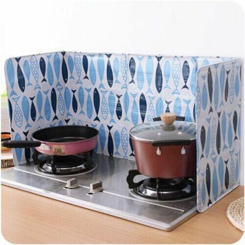 Kitchen Cooking Frying Pan Oil Splash Screen Cover Anti Splatter Shield Guard