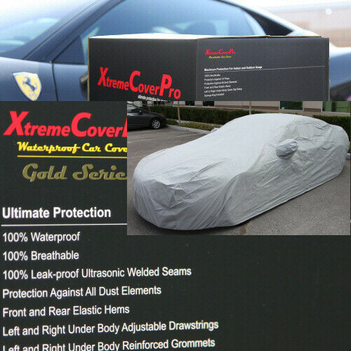 1996 1997 1997 1999 2000 2001 2002 Acura RL Waterproof Car Cover GREY w//MirrorPo