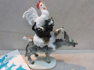 hutschenreuther germany the bremen town musicians figurine ebay. Black Bedroom Furniture Sets. Home Design Ideas