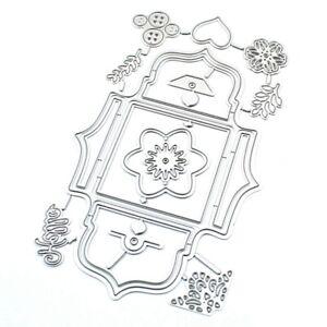 Ecke Spitze Metall Stanzformen Schablonen DIY Scrapbooking Dekorative ogzlx