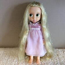 DISNEY RAPUNZEL FIRST EDITION ANIMATOR DOLL TINSEL GLITTER HAIR / NIGHT DRESS