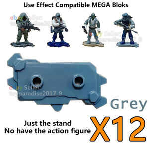 Base Plates Stand For Mega Bloks Construx HALO CALL OF DUTY Mini Army Figures G
