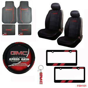 Image Is Loading GMC Elite Car Truck Seat Covers Floor Mats