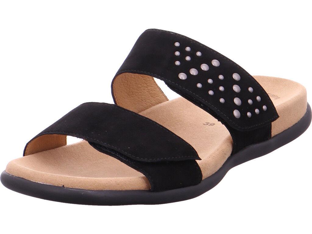 Gabor   Pantolette Sandale Hausschuhe schwarz