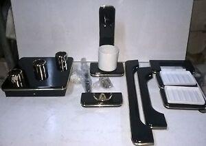 Plafoniere In Legno Per Bagno : Set accessori da bagno plafoniera in legno e ceramica colore
