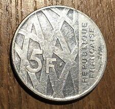 PIECE DE 5 FRANCS MENDES FRANCE 1992 (132)