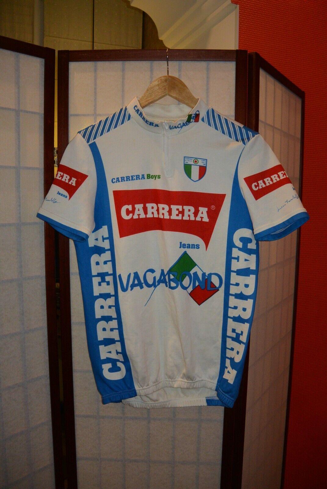 Carrera  Vagabond Campioni d'Italia 1996 old retro cycling jersey