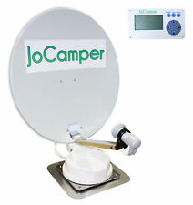 JoCamper Premium GPS Vollautomatische Satanlage SAT 70cm Wohnmobil TV Zubehör