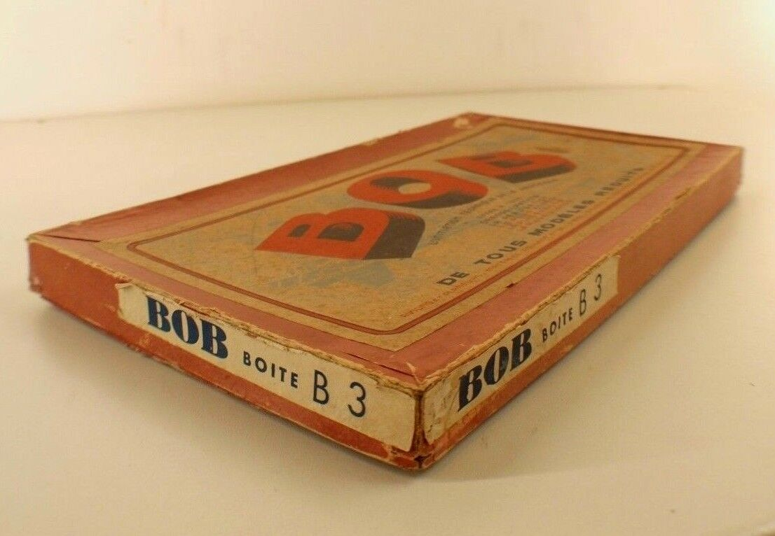 Bob Bob Bob Annemasse Schachtel Nr. B3 Nie Gespielt Spiel Bau Flugzeug Selten Jahre 40 8b0576