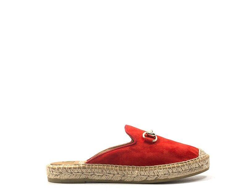 Zapatos KANNA Mujer rojo Gamuza 7009-RO